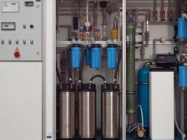 hệ thống khử ion trong nước bằng EDI